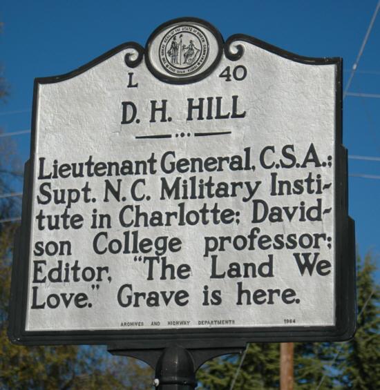 D H Hill North Carolina State Historic Site